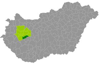 Balatonfüred District Districts of Hungary in Veszprém
