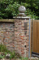 Ball finial gatepost Goodnestone Dover Kent England.jpg