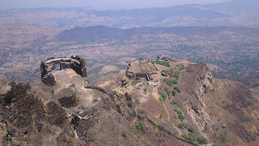 View From Balle Killa - Rajgad