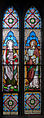 Ballinasloe St. Michael's Church North Aisle Seventh Window Evangelists Matthew and Mark 2010 09 15.jpg