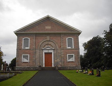 Ballykelly Presbyterian Church, built 1827.
