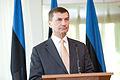 Baltijas Ministru padomes neformālajā darba sesijā tiekas Latvijas, Lietuvas un Igaunijas premjerministri (8889489363).jpg
