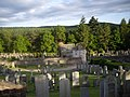 Banchory Cemetery watch tower - geograph.org.uk - 1351714.jpg