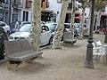 Bancs de la Plaça Farners.jpg