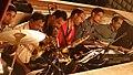 Band plays at the Tiatr Festival Goa 2014, for a Moira presentation.jpg