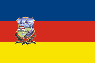Litoral Department - Flag of the Bolivian Litoral Department