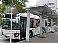 Bando Bus 338 at Abiko Station 02.jpg