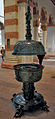 Baptismal font at St Michaels Church Hildesheim.jpg