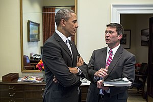 Physician to the President - Image: Barack Obama and Ronny Jackson P022114PS 0888