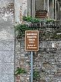 Barchesse di Villa Pigafetta Triolio, tourist sign (Agugliaro).jpg
