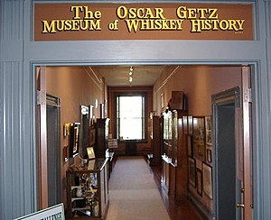 Oscar Getz Museum of Whiskey History - Inside the Oscar Getz Museum of Whiskey History