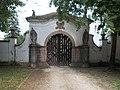 Baroque gate (1746), Majk Hermitage, 2018 Majkpuszta.jpg