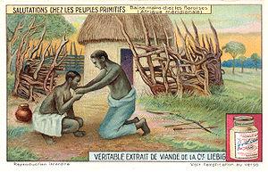 Lozi people - Barotse handkiss