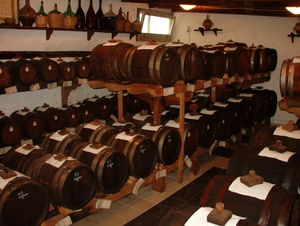 Traditional Balsamic Vinegar - Barrels during aging