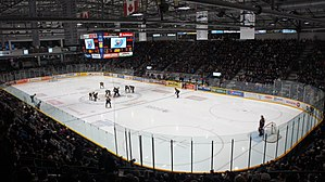 Barrie Molson Centre - Image: Barrie Molson Centre Interior