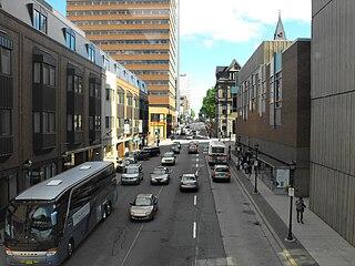 Barrington Street street in Nova Scotia, Canada