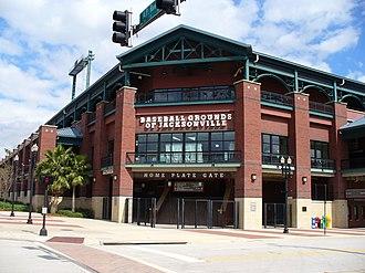 Baseball Grounds of Jacksonville - Image: Baseball Grounds of Jacksonville