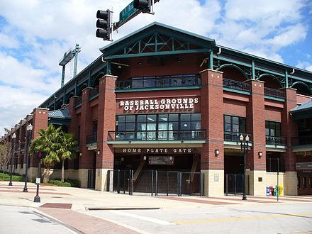 Description de l'image Baseball Grounds of Jacksonville.JPG.