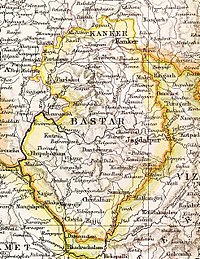 Fürstenstaat Bastar in The Imperial Gazetteer of India