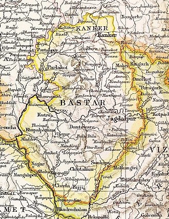 Kanker State - Kanker State in the Imperial Gazetteer of India