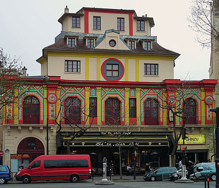 The Bataclan theatre in 2009 Bataclan theater, Paris 3 April 2009.jpg