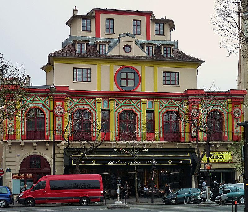 Bataclan theater, Paris 3 April 2009.jpg