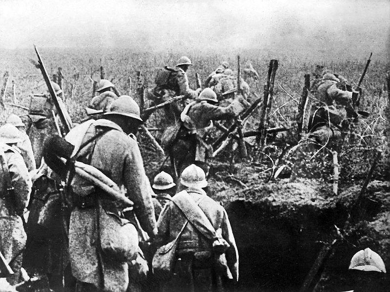 Contraataque francés en Verdún