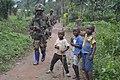 Bataillon Malawite de la Brigade intégrée de la force de la MONUSCO dans la zone de Masiyani, à Beni.jpg