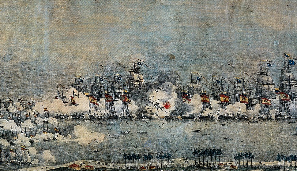 Batalla del Lago de Maracaibo 1823