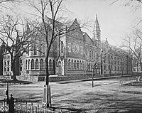 Battell Chapel exterior Yale College c1879.jpg