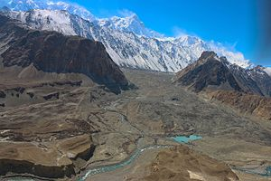Gojal - The Batura glacier, one of the longest outside the Polar region, is in Gojal.