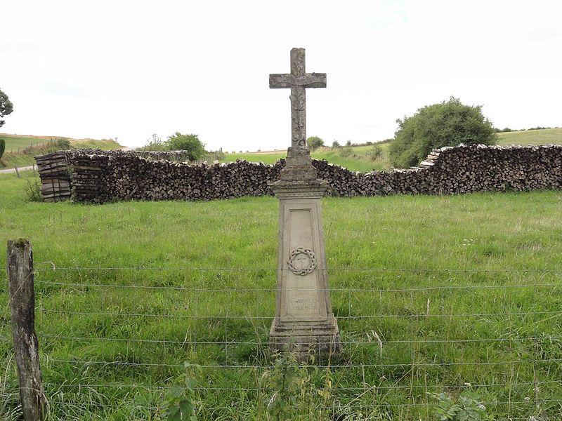 Baudrémont (Meuse) croix de chemin
