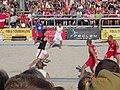 Beach handball - EC 2013 - Denmark-Poland, Lindberg.JPG