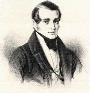 Norbert Burgmüller - Norbert Burgmüller, Lithography by Jakob Becker