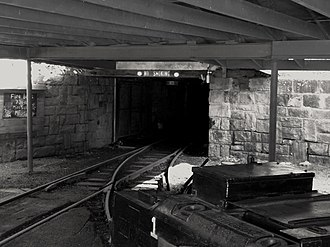 National Register of Historic Places listings in Raleigh County, West Virginia - Image: Beckley Exhibition Mine