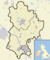 Bedfordshire outline map with UK (2009).png