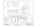 Beehive House, East South Temple Street, Salt Lake City, Salt Lake County, UT HABS UTAH,18-SALCI,1- (sheet 7 of 13).png