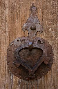 Behnam house's door knocker 001.jpg