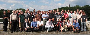 Quantum Bayesianism - Image: Being Bayesian in a Quantum World 2005 conference photo at University of Konstanz