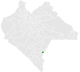 Bejucal de Ocampo Municipality in Chiapas, Mexico