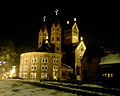 Belarus-Minsk-Church of Simon and Helena (at night).jpg