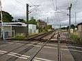 Belford railway station (site), Northumberland (geograph 5912573).jpg