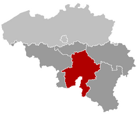 Location of Namur