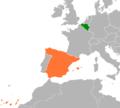 Belgium Spain Locator.png