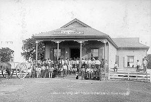 Belle Grove Plantation (Iberville Parish, Louisiana) - Commissary, c.1880-1917