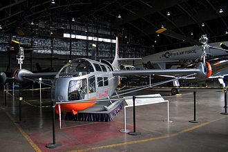Bell XV-3 - XV-3, 54-148, on display at the National Museum of the USAF (2012)