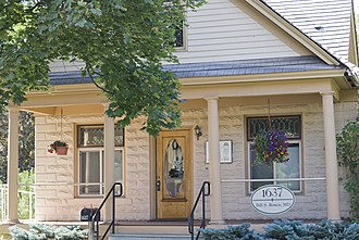 National Register of Historic Places listings in Missoula County, Montana - Image: Bellows House Missoula, Montana