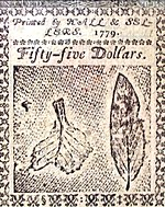 Benjamin Franklin nature printed 55 dollar back 1779.jpg