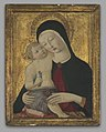 Benvenuto di Giovanni di Meo del Guasta - Virgin and Child - 2009.97.1 - Yale University Art Gallery.jpg