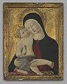 Benvenuto di Giovanni di Meo del Guasta - Virgin and Child - 2009.97.1 - Yale University Art Gallery.jpg